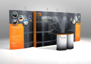 armtec tradeshow illustration